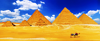 Pyramiden in Sinai